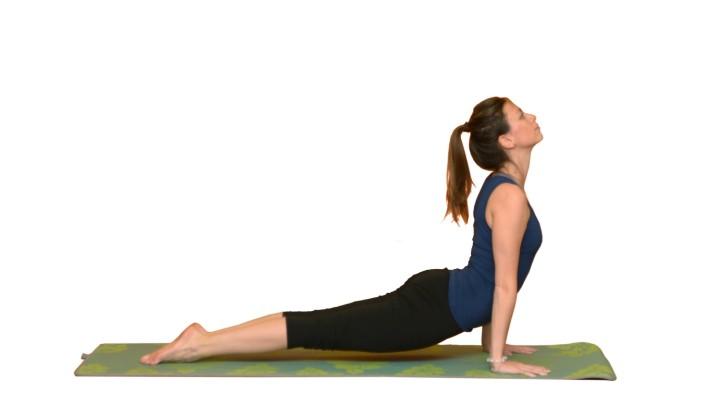 poloha kobry yoga